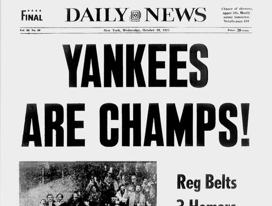 The Yankees Are Officially Winning The 2021 World Series