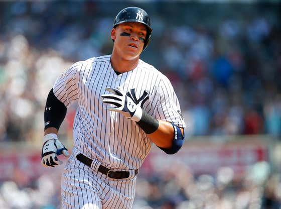 Aaron Judge Is Giving The Yankees A Lot To Think About This Offseason