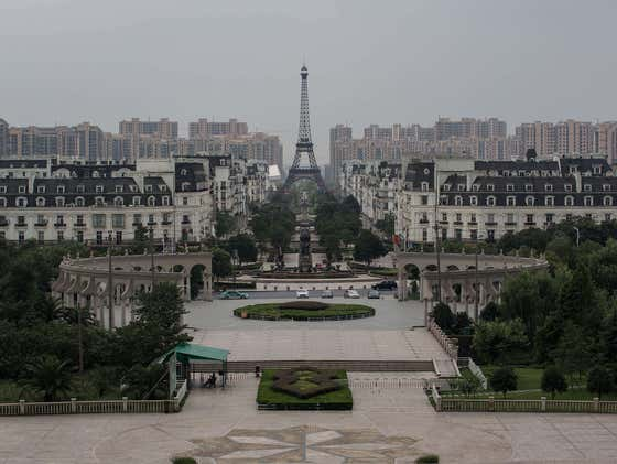 """One Of The Strangest Things In The World Are These Giant Empty """"Ghost Cities"""" In China"""