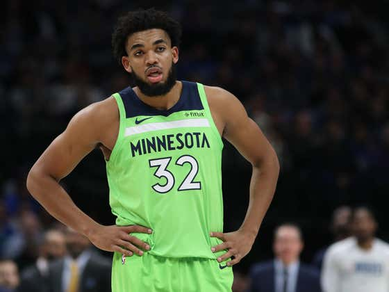 The Timberwolves Shockingly Just Fired Their GM Right Before The Season And Karl-Anthony Towns Seems Pissed