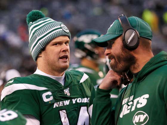 We Can Now Throw Sam Darnold's Jets Career on the Garbage Fire That is the NYJs