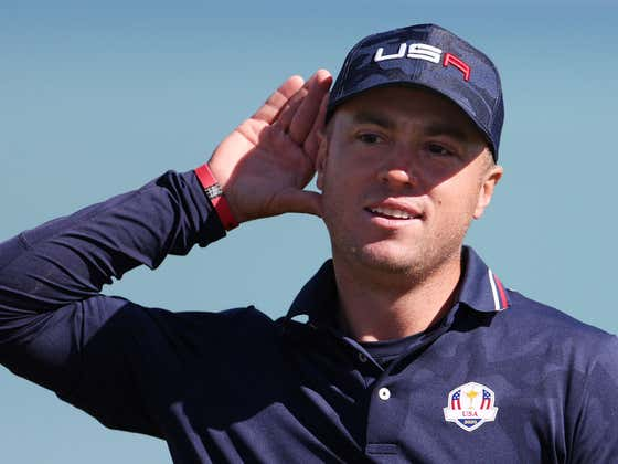 Justin Thomas Pissing Off Europe And Officially Becoming Captain America Is Exactly What We Needed At This Ryder Cup