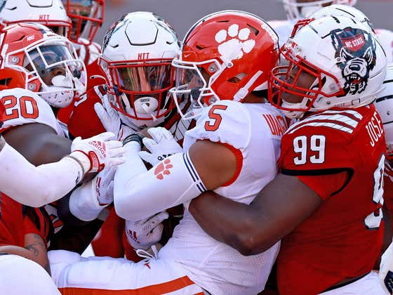 Clemson Is Out of College Football Playoff Contention on September 25