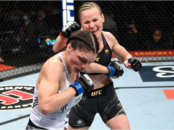 Valentina Shevchenko Landed 8 Strikes In 1 Second During The Finishing Sequence Of Her Fight Tonight