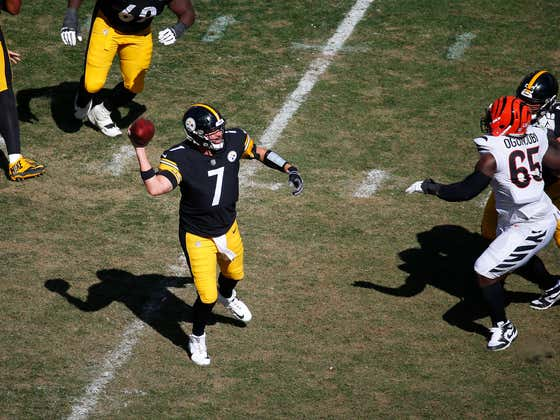 Big Ben Threw Maybe The Worst Interception In The History of The NFL Today