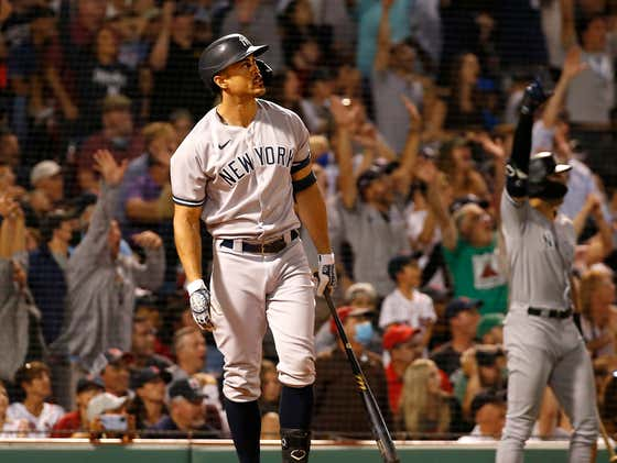 Giancarlo Stanton And The Yankees Took Over The #1 Wild Card Spot After A Sweep At Fenway