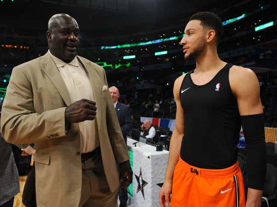 The Sixers Don't Need Ben Simmons Anyway Because They Just Signed Shaq