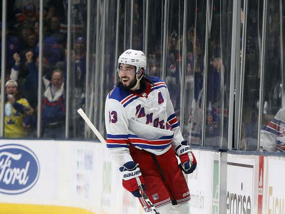 Rangers Extend Mika Zibanejad For 8 More Years