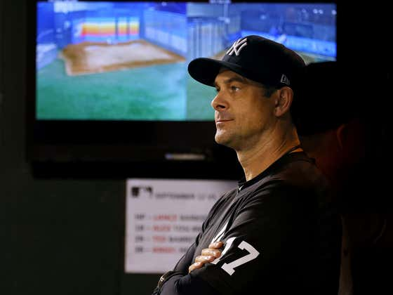 Report: The Yankees Are Somehow Leaning on Bringing Back Aaron Boone as Manager