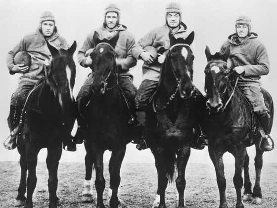 On This Date in Sports October 18, 1924: The Four Horsemen