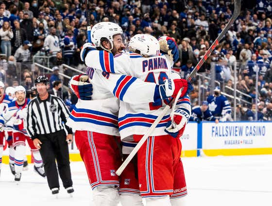 The Rangers OT Win Was So Crazy The NHL Tweeted The Whole Damn Thing