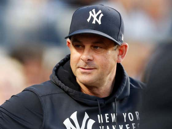The Yankees Are Rewarding Their Puppet of a Manager Aaron Boone With a Brand New Three Year Contract As The Rest of the Baseball World Laughs