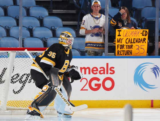 B's Bounce Back: Linus Ullmark Gets His First Win As A Bruin Against His Former Team