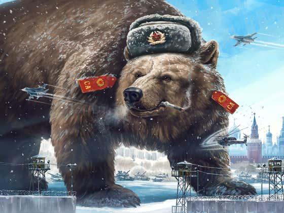 Russian Boxer TKOs Siberian Bear