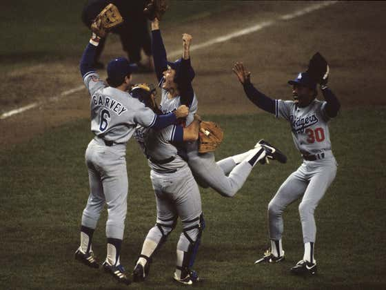 On This Date in Sports October 28, 1981: Lasorda's Crowing Moment