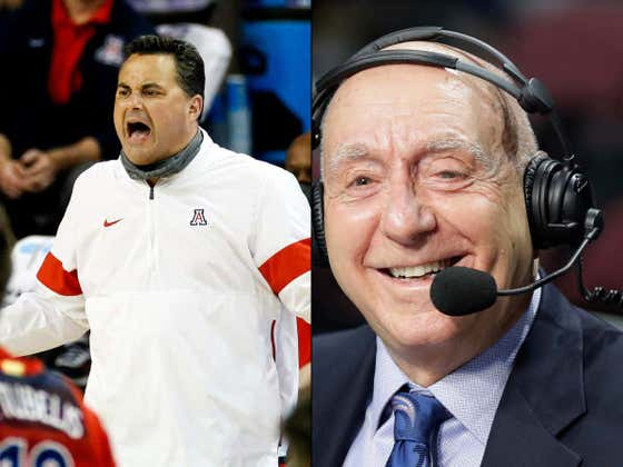 Dick Vitale Fucking Hates That Sean Miller Is Coaching, Won't Stop Until Arizona Fires Him