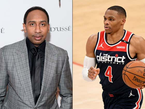 Russell Westbrook Dunked On Stephen A Smith So Naturally He Doubled Down On His Shitty Take