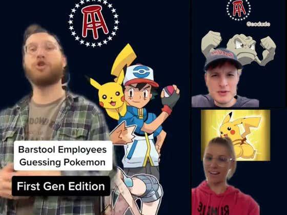 Are Barstool Sports Employees Pokemon Masters?