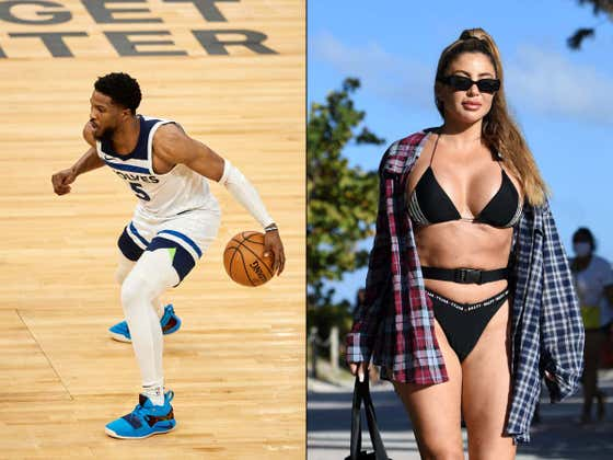 Poor Malik Beasley Just Can't Catch A Break -Splits With Larsa Pippen (Shocking!) And Immediately Out 4-6 Weeks With An Injury