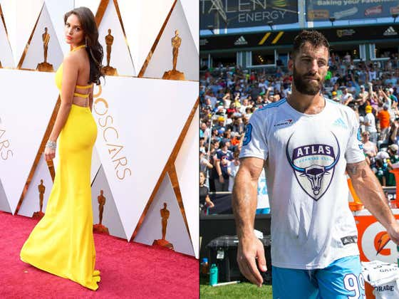 Lax Legend Paul Rabil Dating Eiza González Has to Be The Biggest Moment In Lacrosse History