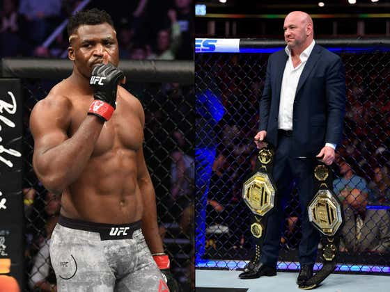 UFC Announces Interim Heavyweight Championship Fight Just Three Months After Francis Ngannou Won The Title