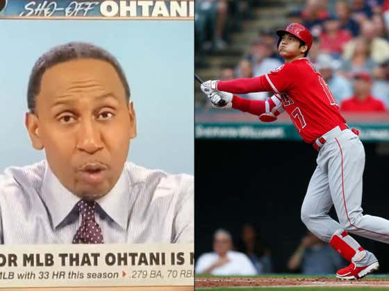 Stephen A. Smith Doesn't Believe Shohei Ohtani Can Be The Face of Baseball Because He Uses An Interpreter And Doesn't Speak English to the Media