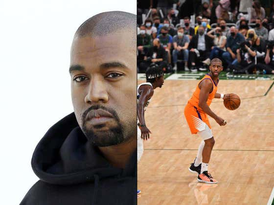 Pretty Clear That Chris Paul Isn't Hurt Or Scared Of The Moment, He Sucked In Game 4 Because Of Kanye West