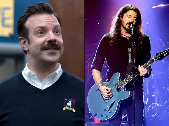 Jason Sudeikis Says The Song 'My Hero' By Foo Fighters Helped Him Shape 'Ted Lasso' Season 2