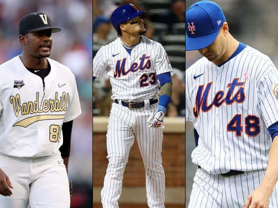 This Weekend In Metsland: Kumar Rocker Doesn't Sign, Javy Baez Does Javy Baez Things, And Jacob deGrom May Not Be Back Until September If At All. Good Times!