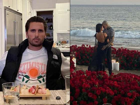 Unsurprisingly, Scott Disick Is NOT Taking The News Of Travis Barker And Kourtney Kardashian's Engagement Well