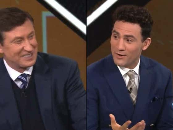 """The GOAT Talks About Getting """"Horned Up Offensively"""" With Wayne Gretzky Between Periods"""