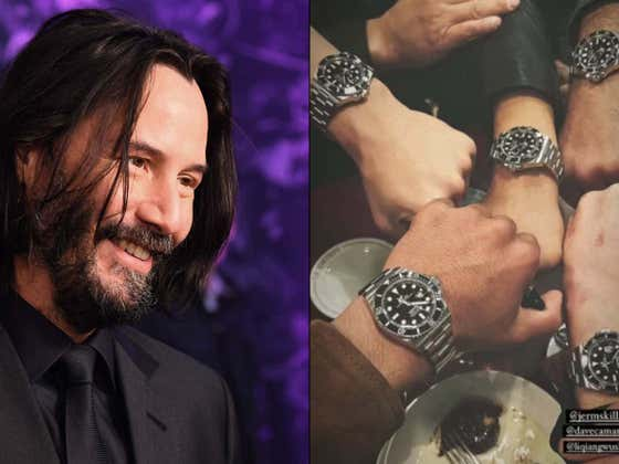 Keanu Reeves' John Wick Stunt Team is Called 'The John Wick Five' And He Gave Each Member a Customized Rolex Watch as a Thank You For Their Latest Movie