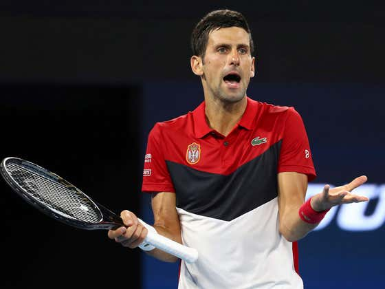 Despite a COVID-19 Outbreak At His Own Event, Village Idiot Novak Djokovic Refused To Get Tested Right Away Because He Had No Symptoms