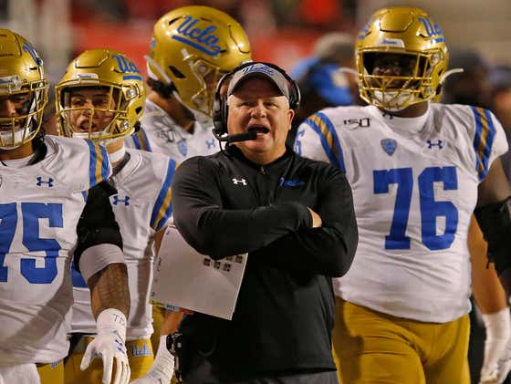 UCLA Players Claim Chip Kelly Has 'Perpetually Failed' Them, Demand Third-Party Health Official for Football Activities