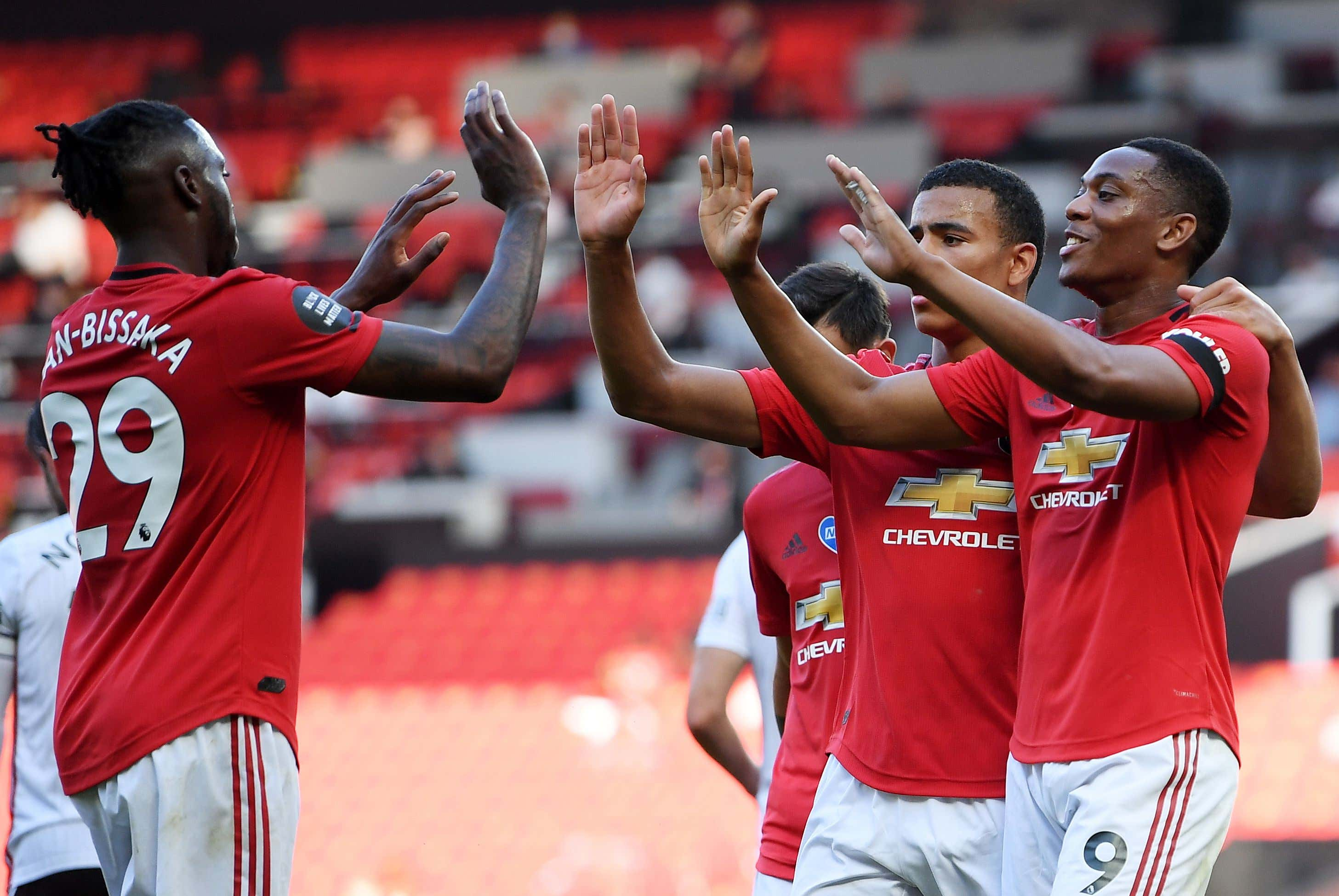 Manchester United vs Sheffield United, United Kingdom - 24 Jun 2020