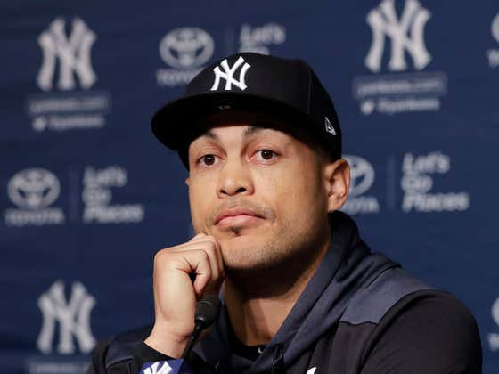 Somehow Giancarlo Stanton's Strained Calf From February Is Still a Problem