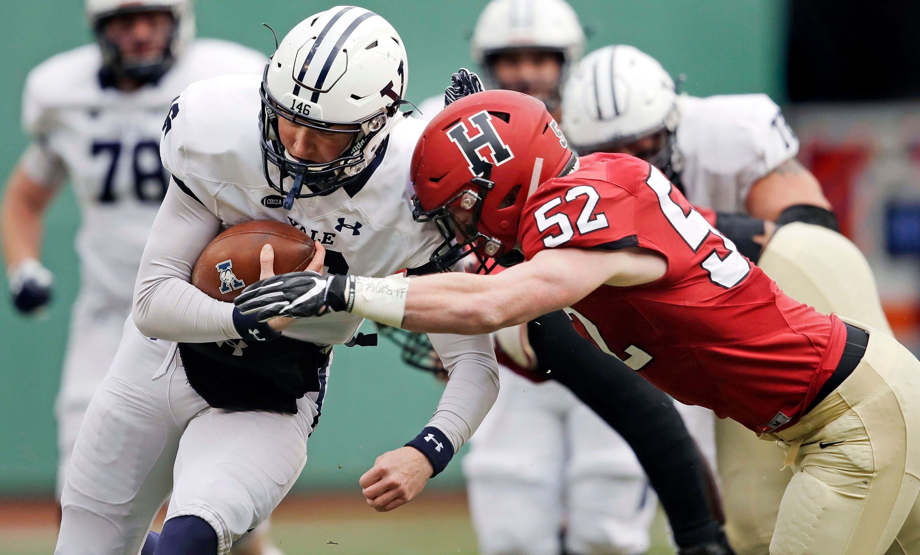 Yale Harvard Football, Boston, USA - 17 Nov 2018