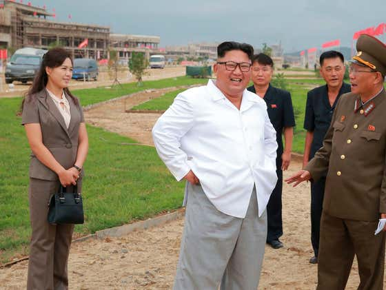 Kim Jong Un Blew Up His Own Liaison Office Because South Korea Sent Propaganda Leaflets Over With Photoshopped Nudes Of His Wife