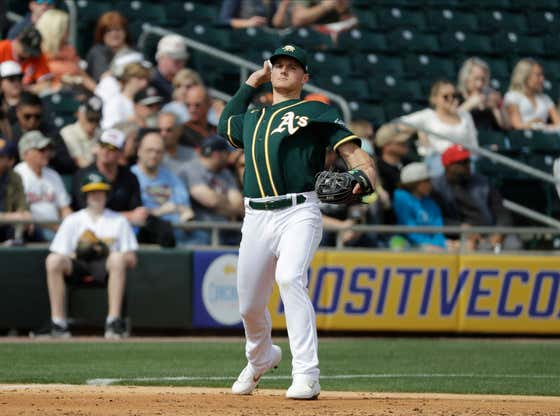 A's 3B Matt Chapman Says Oakland Will Have an Advantage This Season Because Nobody Went to Their Games to Begin With