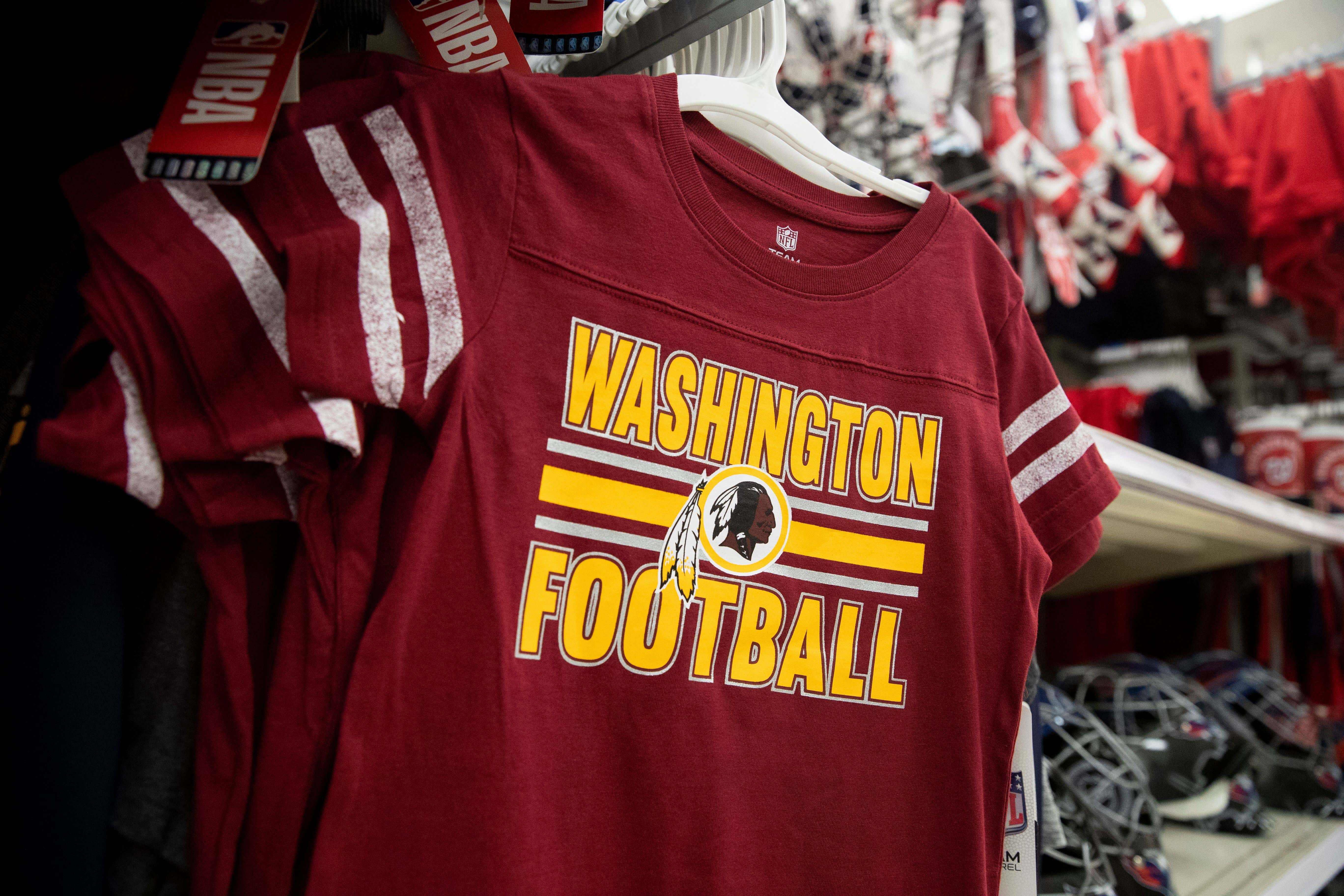 National Football League's Washington Redskins will change the Redskins name and logo, Alexandria, USA - 13 Jul 2020