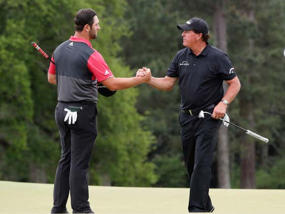 During A 2016 Tournament Phil Mickelson Made A Bet Involving 'At Least A Comma' That Jon Rahm Would Be Ranked A Top-10 Golfer