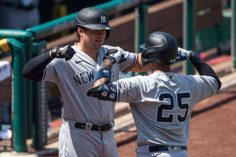 Yankees Nationals Baseball, Washington, United States - 26 Jul 2020