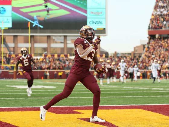 Minnesota WR Rashod Bateman Becomes Latest NFL Draft Prospect to Opt Out of 2020 College Football Season