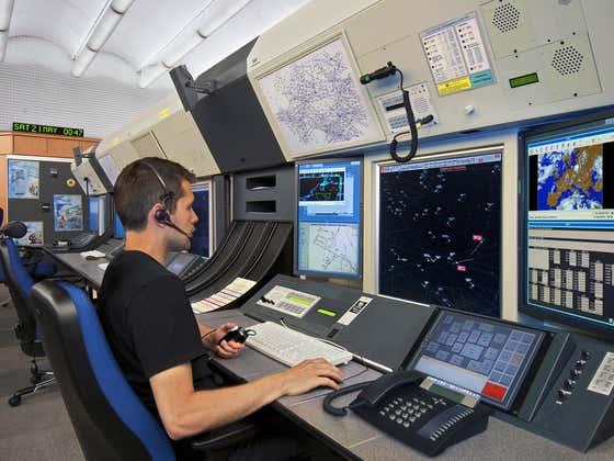 Eddie Interviews Air Traffic Controller
