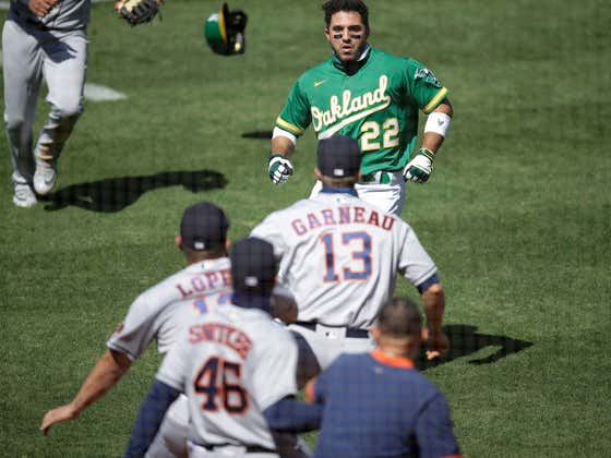 """Ramon Laureano With An All-Time Quote About Coward Astros Coach Alex Cintron: """"I Regret Charging Him Because He's a Loser"""""""