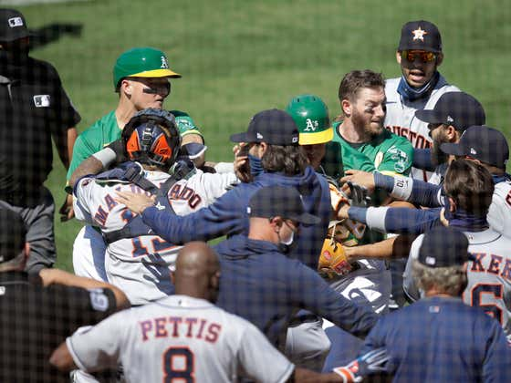 Wait a Second, Major League Baseball Actually Got the Astros-A's Brawl Suspensions Right This Time?