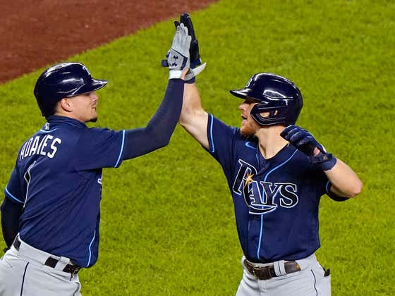"""The Rays Were So Emotional Last Night After Mike Brosseau's Two Homer Game That They Reportedly Had """"Tears In Our Ears"""""""