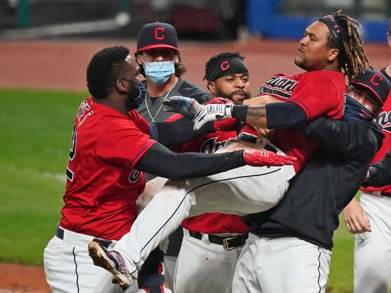 Jose Ramirez Walk-Off Bomb Clinched A Playoff Spot For The Most Feared Team In Baseball