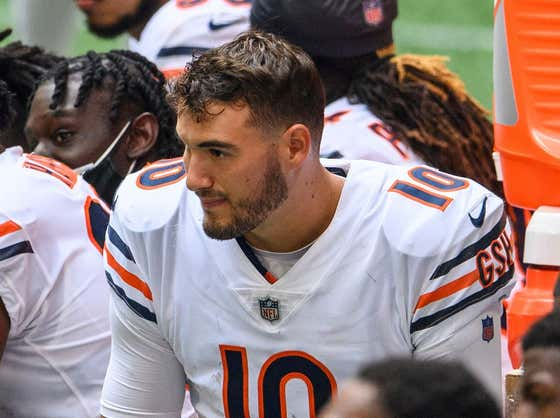Bears Wide Receivers Coach Threw Some Shade At Mitch Trubisky Yesterday