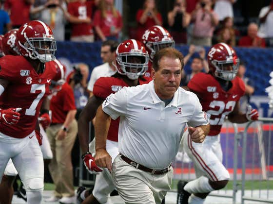 How Much Does Nick Saban's Absence Effect The Line Between Alabama-Georgia?